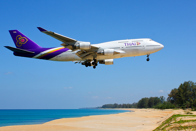 thai airways boeing 747