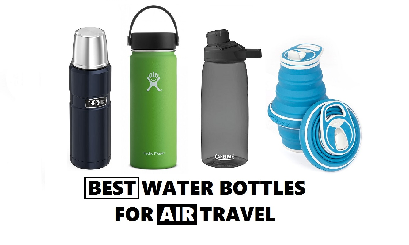 e17b918f2464 Review - 4 Best Water Bottles to take on the Plane in 2018 | The ...